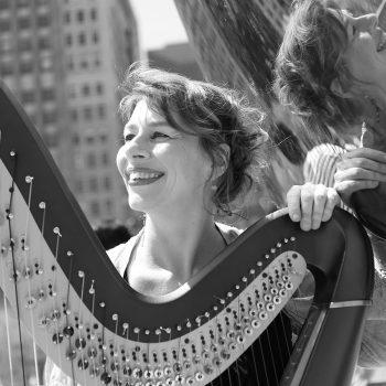 Isabelle Olivier, harpist/composer