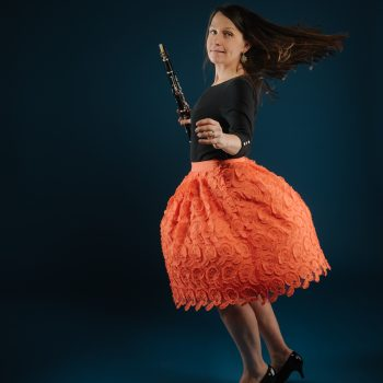 Jennifer Woodrum, clarinet