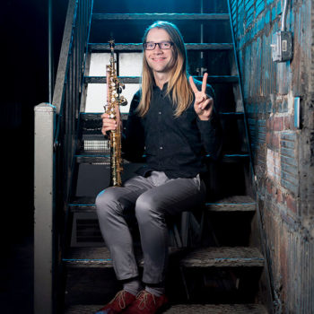 Phil Pierick, saxophone